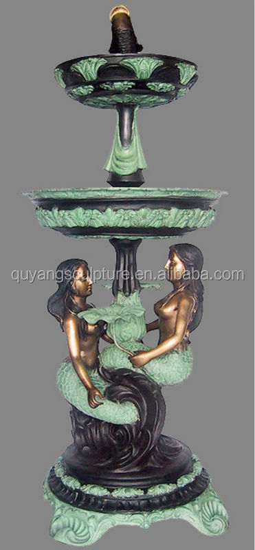 Large Outdoor Metal Water Fountains Sculpture