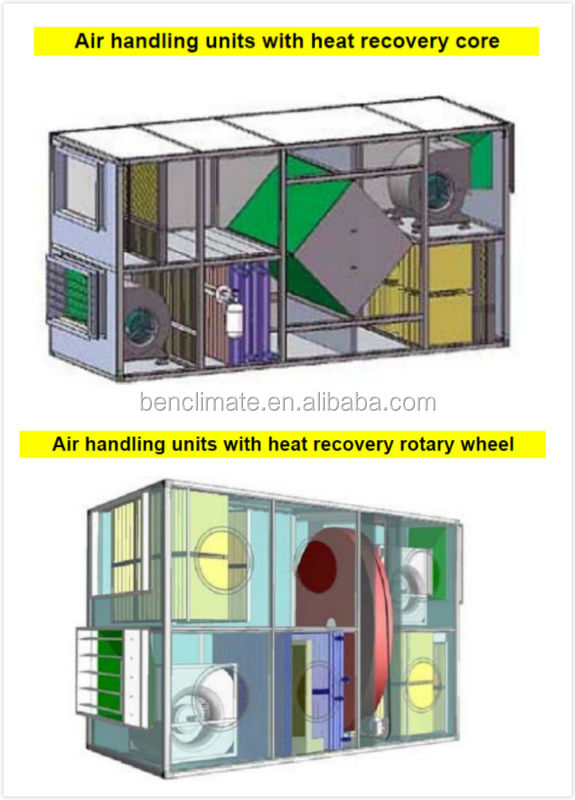 Central Air Handling Unit For Air Conditioning Buy Roof