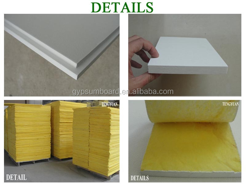 colorful fiberglass acoustic ceiling board for office france europe /india market