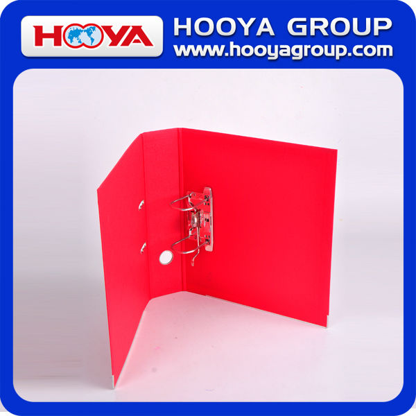 wholesale colorful stationery paper file folder A4 lever arch file