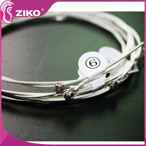 High grade silver plating acoustic guitar string,extra light special guitar string,the round wound guitar string