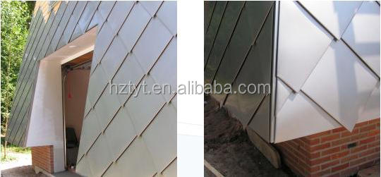Green Copper Roof Metal Shingles