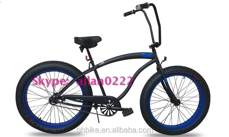 26*4.0 popular fat tyre beach bike bicycle sand bike snow bike bicycle for sale big tyre bike