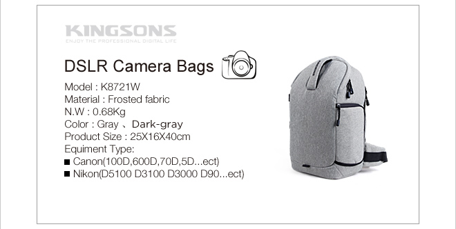 2016 waterproof vintage sling camera bag