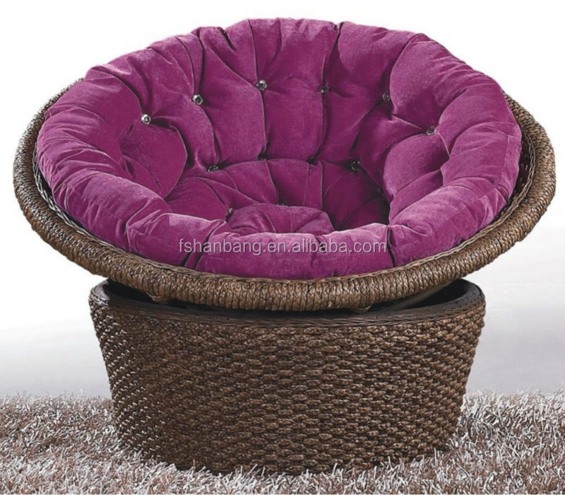 Rattan Mamasan Chair With Microsuede Cushion Buy Rattan