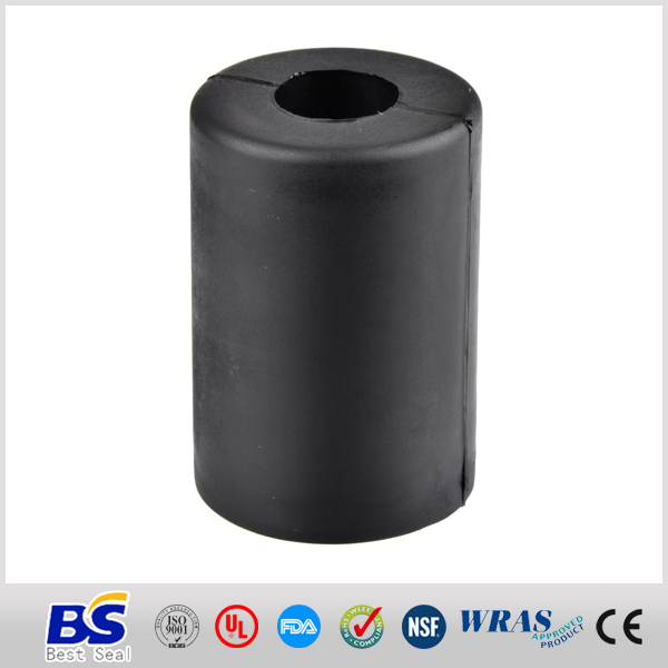 Anti friction rubber hose sleeve for protective hydraulic