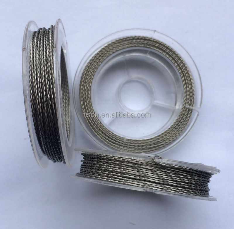 0.16mm 34AWG 10M/spool High Quality twisted heating wire