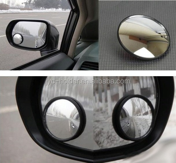 T0C11 360 Wide Angle Round Convex Car Blind Spot Mirror,Round car Mirror for sale