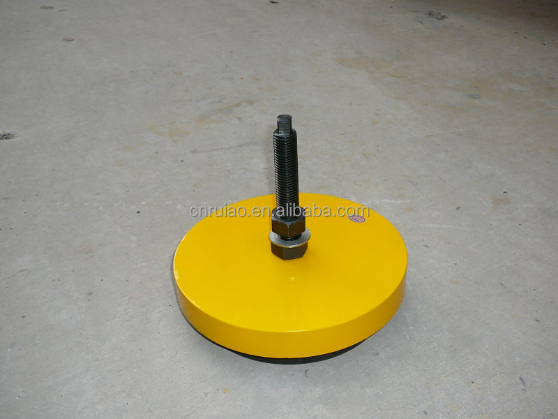 Custom machine anti vibration mounts