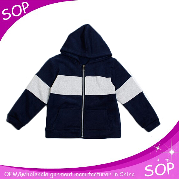 Long sleeves hoody sweatshirt plain boys supreme hoodie children clothes