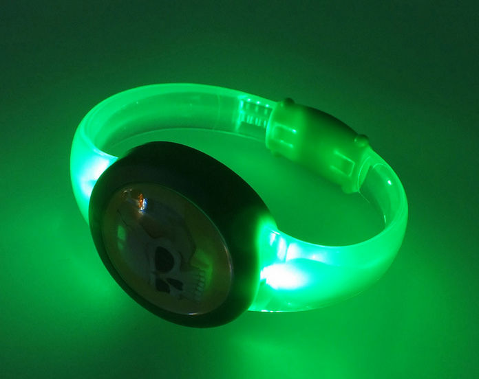 sound activated LED bracelet ,mixed led color