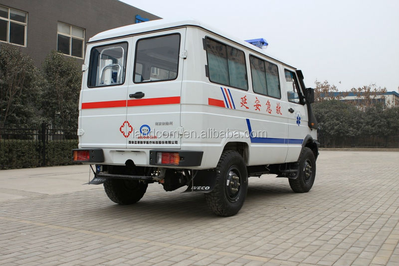 Nj2045sfd6 Iveco 4wd Lhd Ambulance - Buy Ambulance,4wd