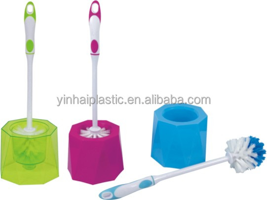 Europe regional feature Hot sell plastic Toilet brush with holder
