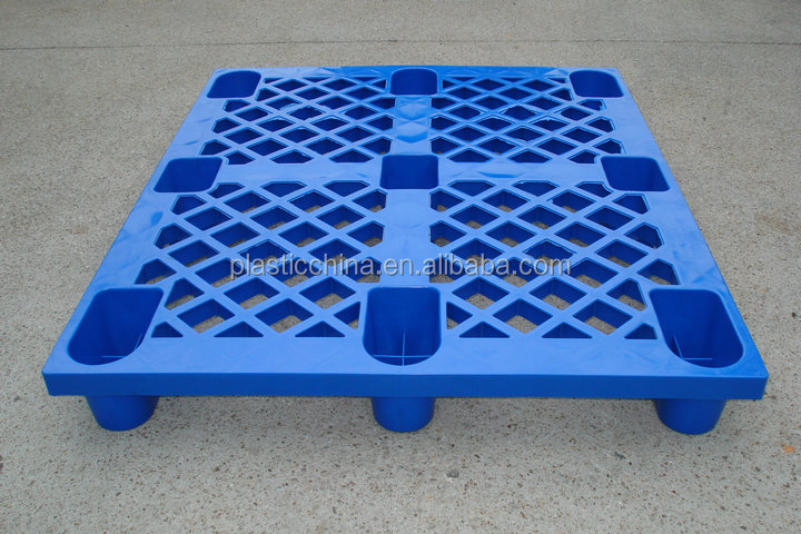 Chinese supplier light duty pue HDPE nestable storage plastic pallet