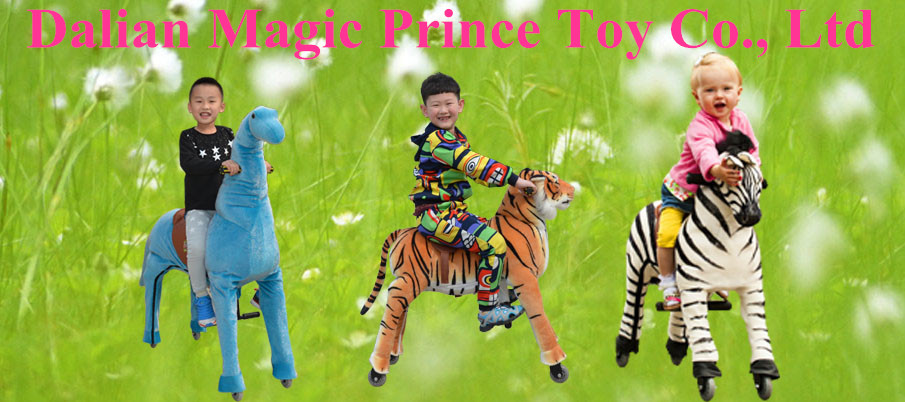 (EN71&ASTM&CE)~(Pass!!)~Magic Prince ride on horse toy pony/DY-8 Plush mechanical toys for 3-15 kids/Dalian Magicprince