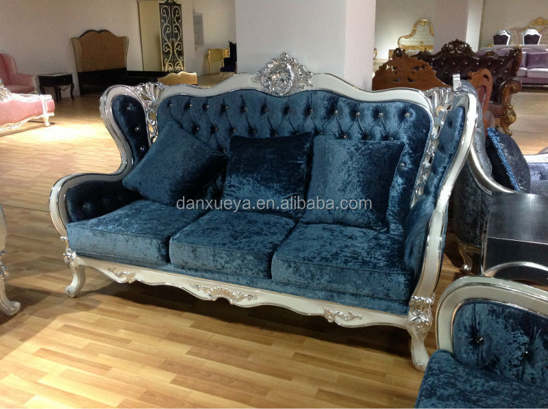 Royal blue sofa classical french antique sofa blue classic for Sofa royal classic