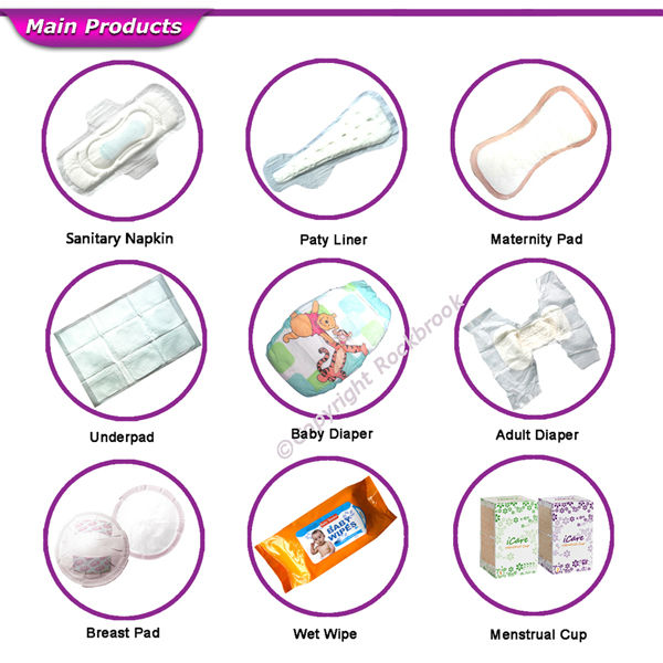 China Supplier Wholesale 280mm Ultra-Thin Dry Weave Anion Chips Female Sanitary Pads