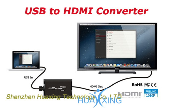 USB to HDMI converter box,usb converter