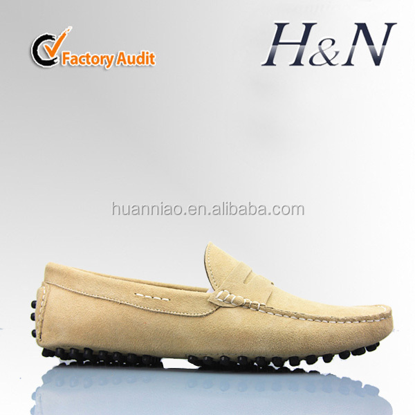 Custom leather mocassin