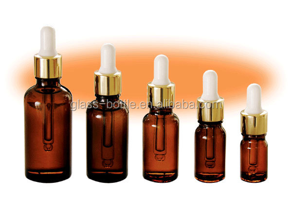 10ml Empty Glass Bottle For Essential Balm Oil Small Glass bottle