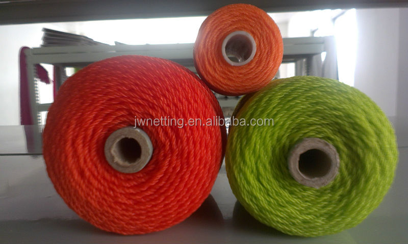 PE Twiested Twine Spool, Assorted Colors, 380D/21PLY-120PLY