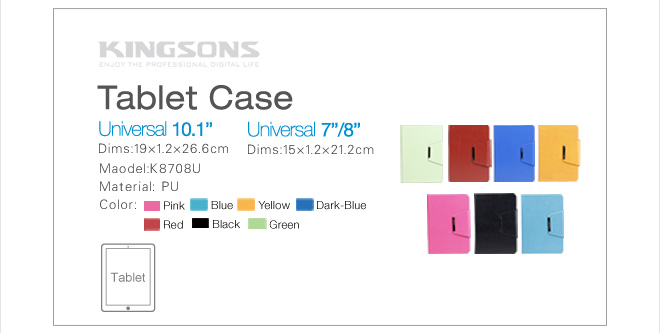 2014 hot case for tablets universal tablet case 10.1inch