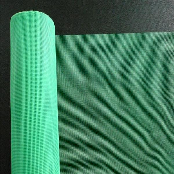 White Fiberglass Mesh : Pvc coated fiberglass window screen net buy