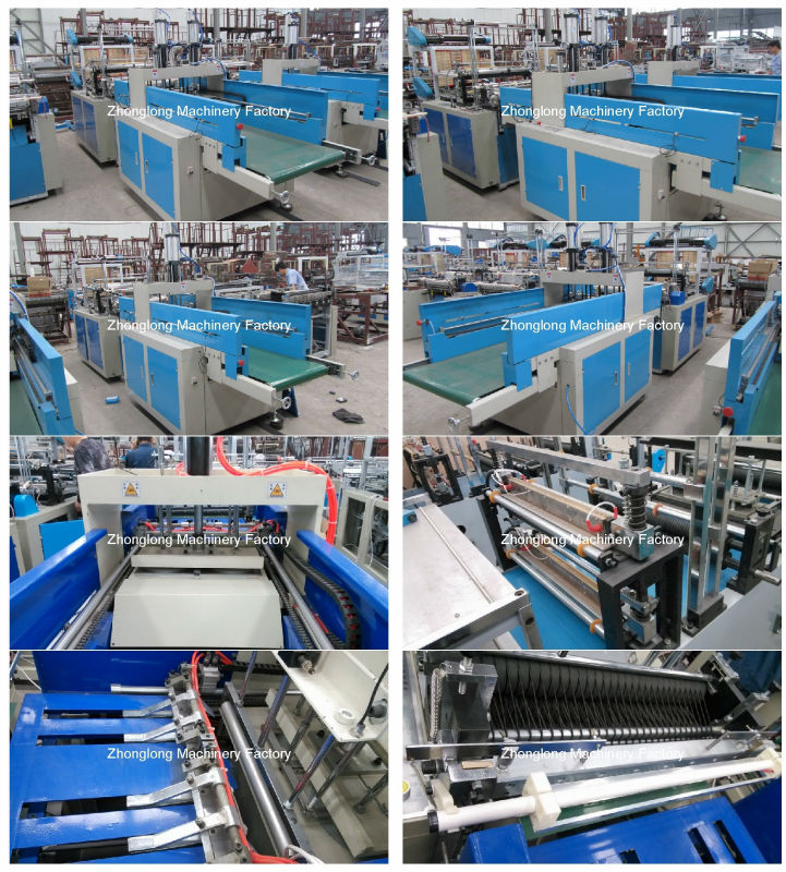 Automatic Shopping Bag Type Four Line Bag Making Machine