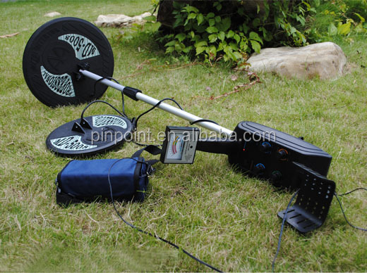 Free shipping + 2 pcs coils Underground gold nugget MD-5008 metal detector ,under-ground treasure detector with two plates