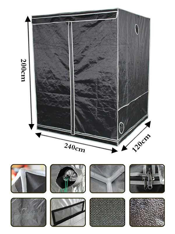 Grow hydroponic Superior Quality carbon filter grow tent