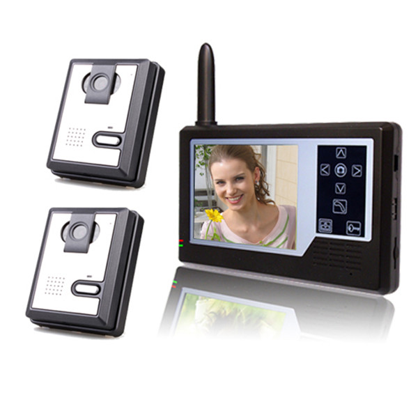 Hot 3.5 inch wireless door phone for homes