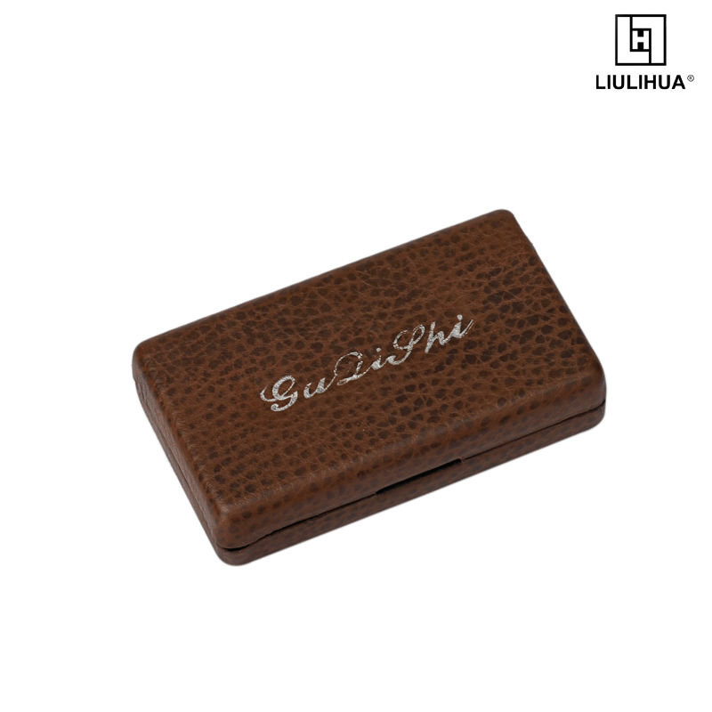 Factory cheap price Custom Size fashion leather cigarette box New personalized cigarette case