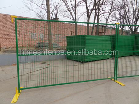 8ft X10 ft Temporary Wire Fencing Temporary Steel Fencing Panel