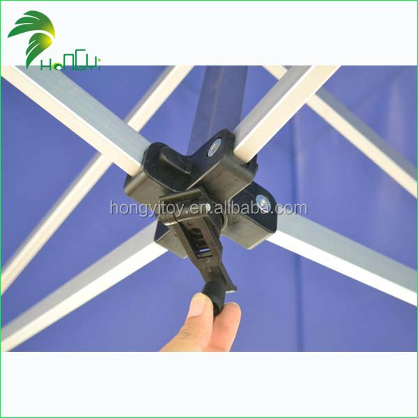 james Six square Blue aluminum alloy folding tent 6 Hongyi