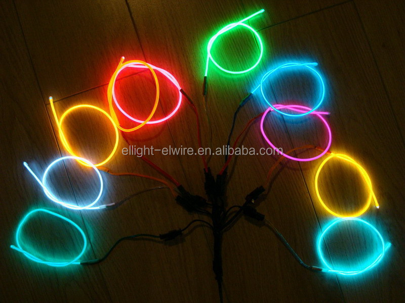 "High quality&High luminance""Polar light 3"" EL WIRE / ""Polar light 2"" EL WIRE / Electroluminescent wire"