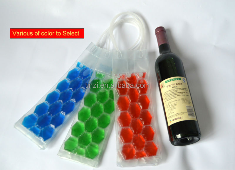 Flexible Wine Tote Bottle Cooler Bag
