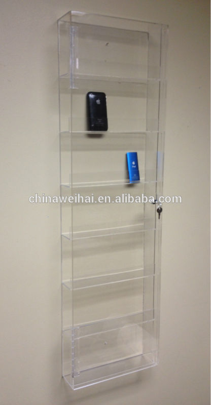 Lighted Acrylic Floating Wall Shelves Buy Lighted