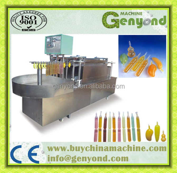 filling and sealing machine for ice lolly or ice pop or Popsicle yogurt