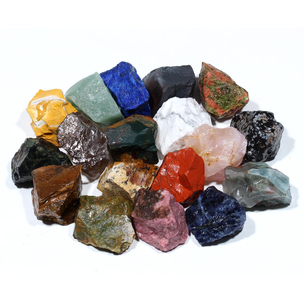 Semi Precious Gemstone Raw Stone : Red jasper rough gemstone stone as raw gift buy
