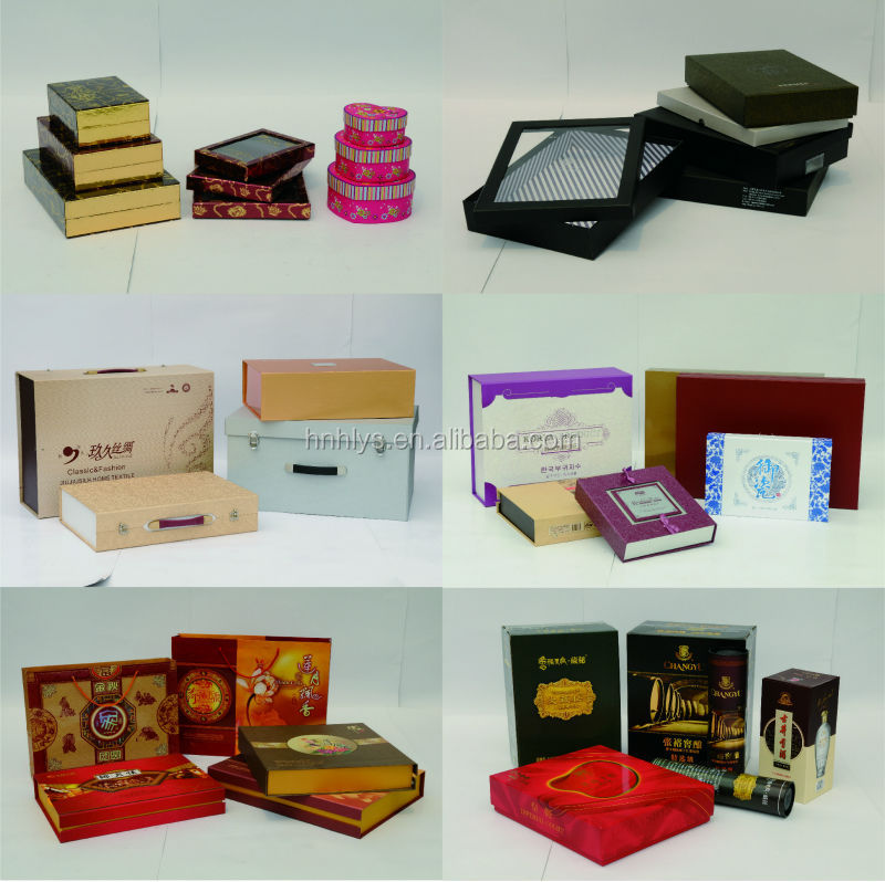 2015 Custom Printed Folding Rigid Box