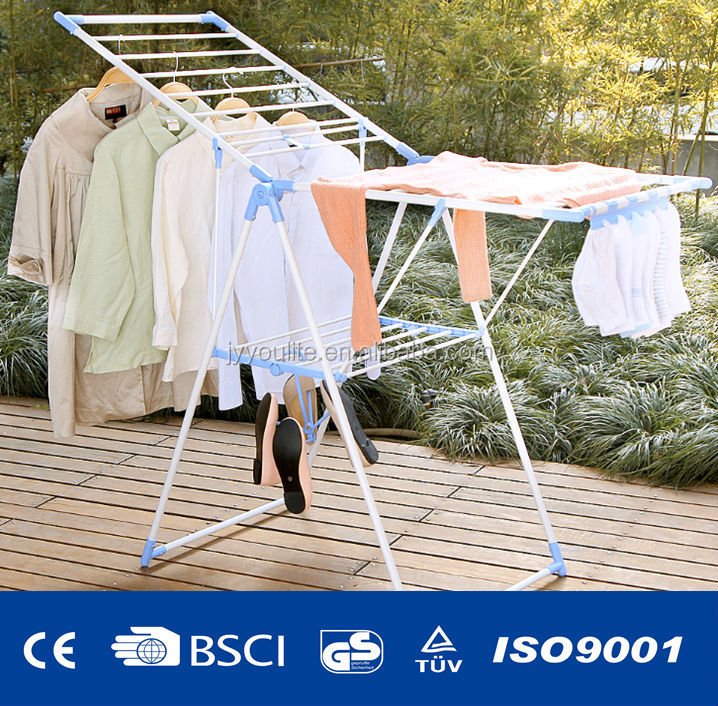 The best folding wing baby clothes airer stand View
