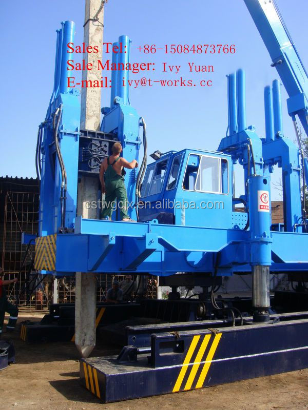 Jack In Machine Injection Machine Sheet Pile Driver Buy