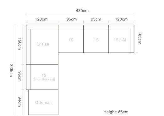 2017 latest sofa design living room sofa italian for Big size couch