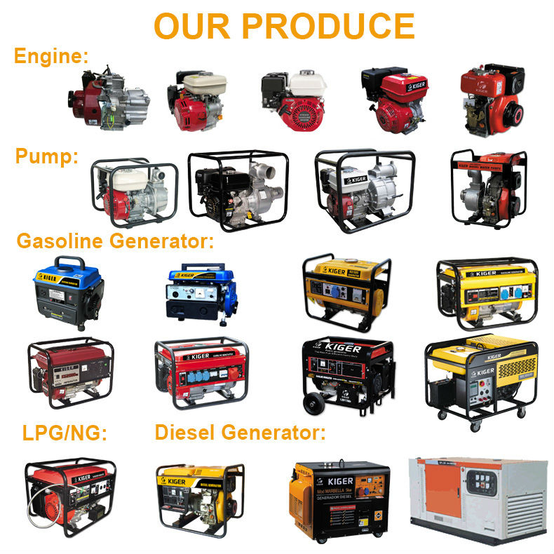 6kw Portable Gasoline Generator Set