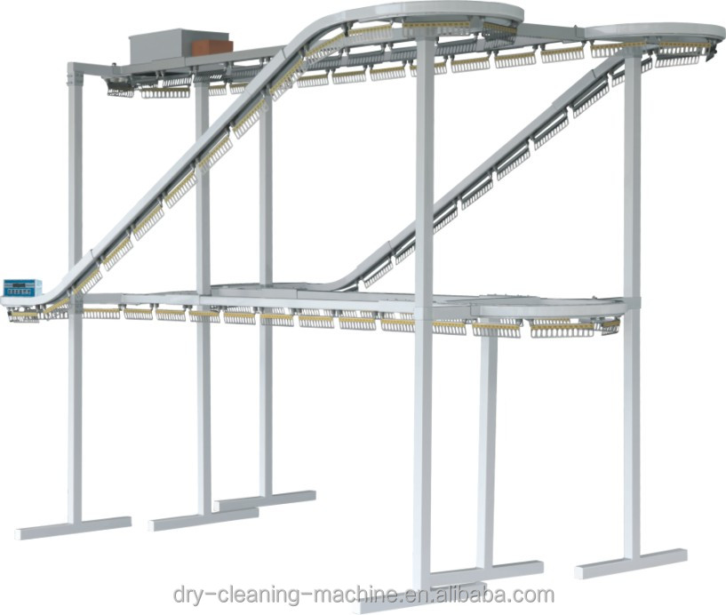 clothes conveyor laundry dry cleaning conveyor for sale