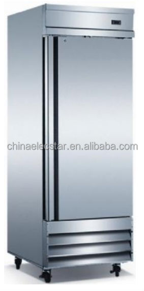 Reach-in solid swing door fridge, Conforms to UL/NSF ,Stainless Steel,kitchen refrigerator,catering equipment