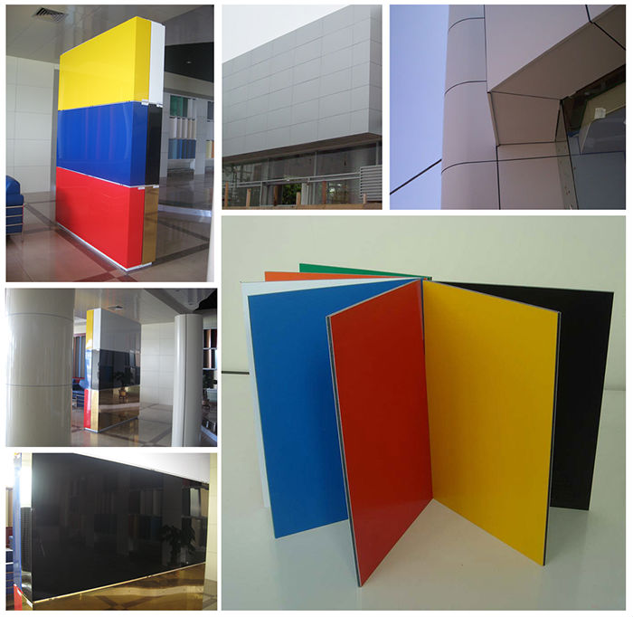 Made in China Special size PE painting aluminum composite panel