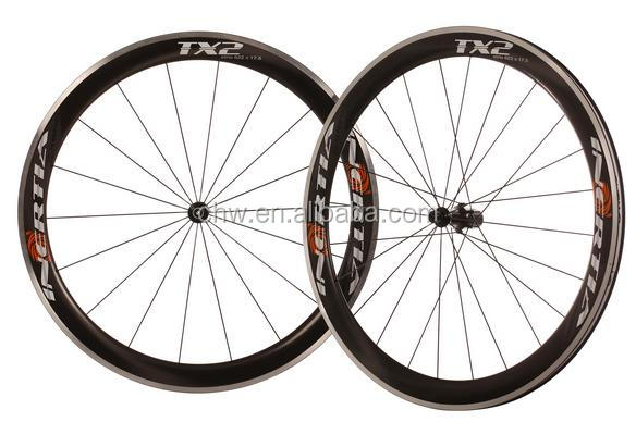 2015 New Clincher Bicycle Road Carbon Wheels