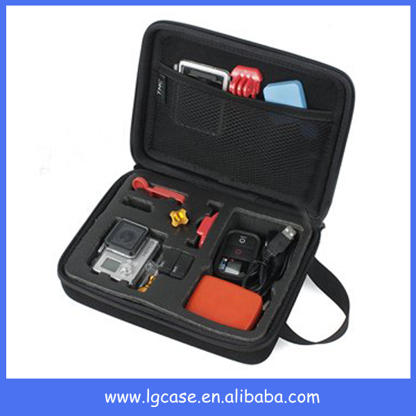 plastic equipment anti-dust tool case with foam insert