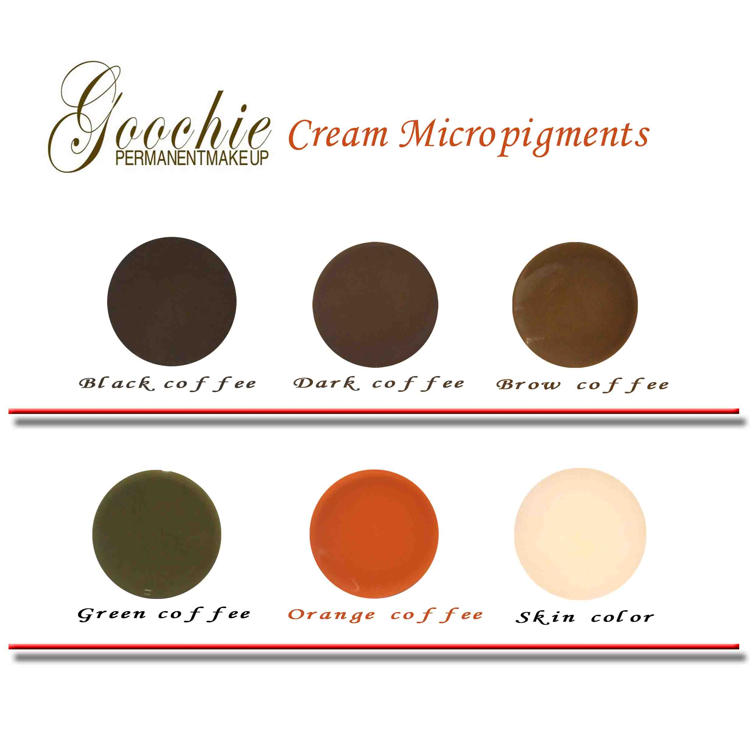 ink color how to get coffee cream